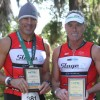 S2C Tri team members Kevin and Marc bringing home the hardware, HITS, Ocala, Florida.